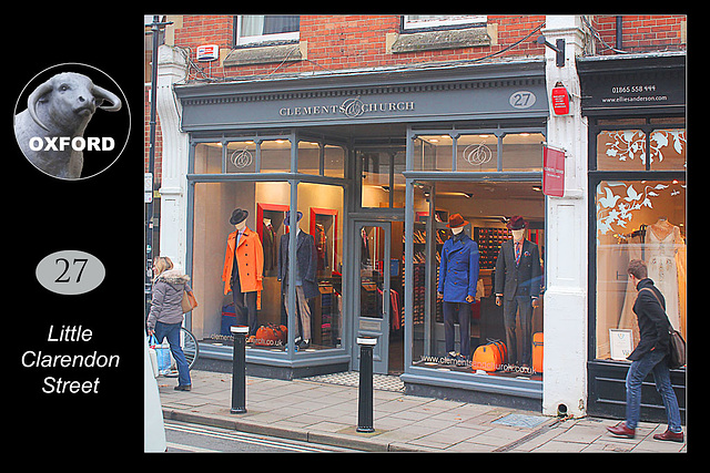 27 Little Clarendon Street - Oxford - 18.11.2014