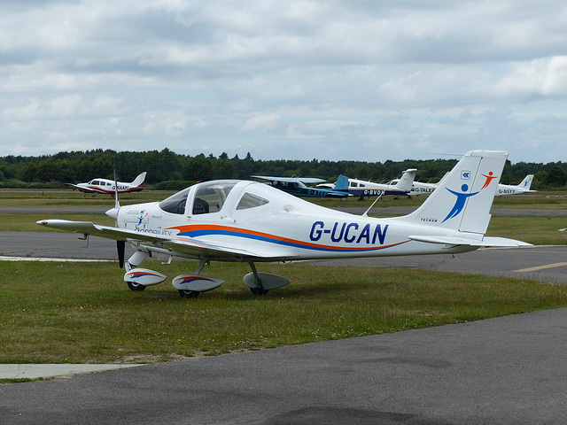 G-UCAN at Blackbushe - 17 June 2015