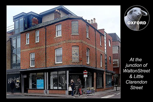Walton Street & Little Claredon Street Junction - Oxford - 18.11.2014