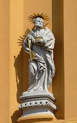 Melk Abbey- Statue of Saint Peter