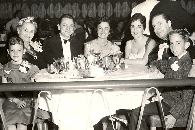 Clubbing at the midpoint of the Eisenhower administration.