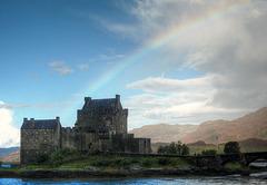 Treasure at the end of the rainbow (Eilean Donan Castle)
