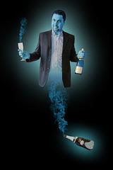 le génie de la bouteille