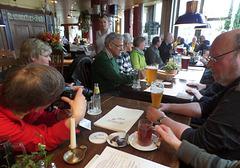 Mittags im Brauhaus Albrecht