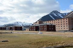 Svalbard, The Abandoned Miner's Settlement of Pyramiden, The Main Street