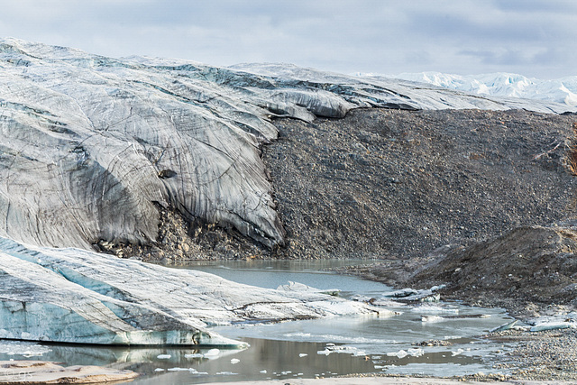 """The """"dragon"""" of Russell Glacier"""