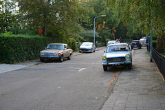 1974 Mercedes-Benz 200 Automatic & 1964 Peugeot 404