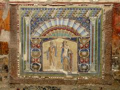 Herculaneum- Casa di Nettuno e Anfitrite