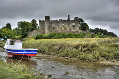 Jane Marie and Laugharne Castle