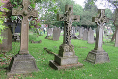 old mortlake cemetery, london