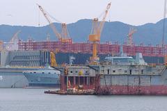 Ships under construction, DSME