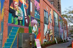 The Lofts of Jackson Murals