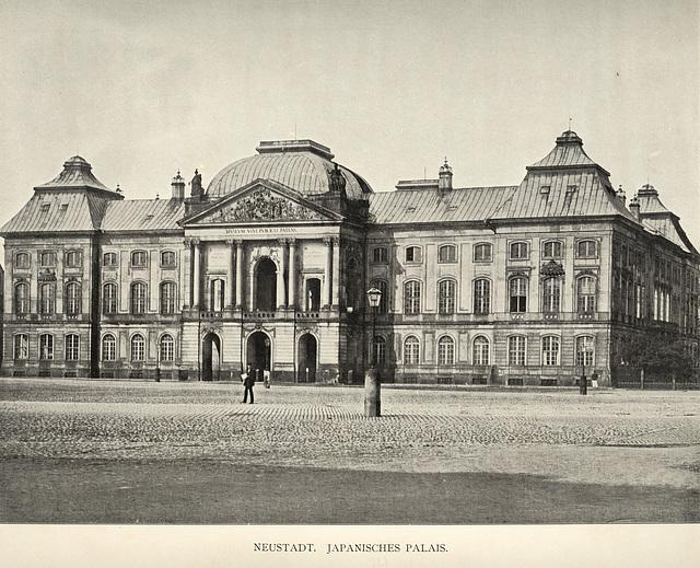 Album von Dresden: Neustadt. Japanisches Palais