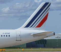 Tails of the airways.  Air France