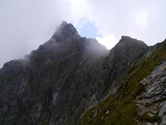 Höchstein,  NW-Wand / NW wall