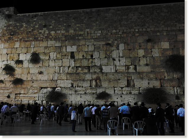 by the Western Wall 18