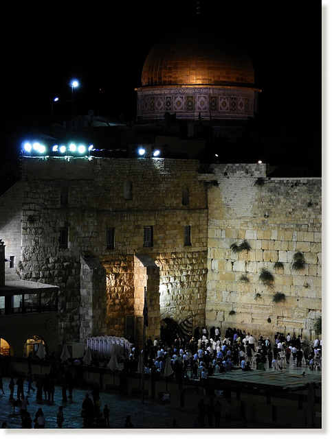 by the Western Wall 19