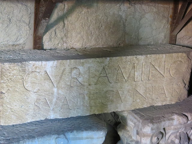 Musée archéologique de Split : CIL III, 8817.