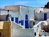 Santorini : una vecchia casa di Oia dietro al Castello bizantino - (1002)