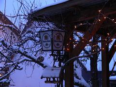 früh am Morgen im Winter