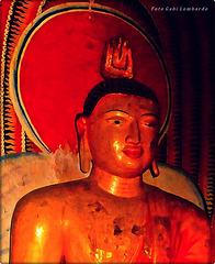 the red Buddha (Cambodia)