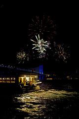 Nachts auf dem Bosporus