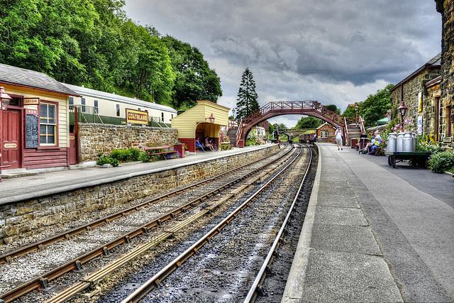 Goathland (NYMR)Railway Station, North Yorkshire