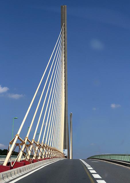 Pont de Brotonne sur la Seine