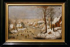 """""""Paysage d'hiver"""" (Pieter Brueghel le Jeune - vers 1600)"""