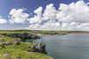 Barafundle Bay cloudscape from Stackpole Head