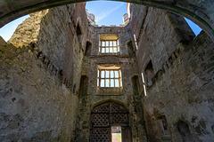 Titchfield Abbey - arch view