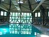 Basen w maneżu pałacu Kliczków.                                        Kliczków palace- Formerly was a manege, riding school horse here. Today is a swimming pool.