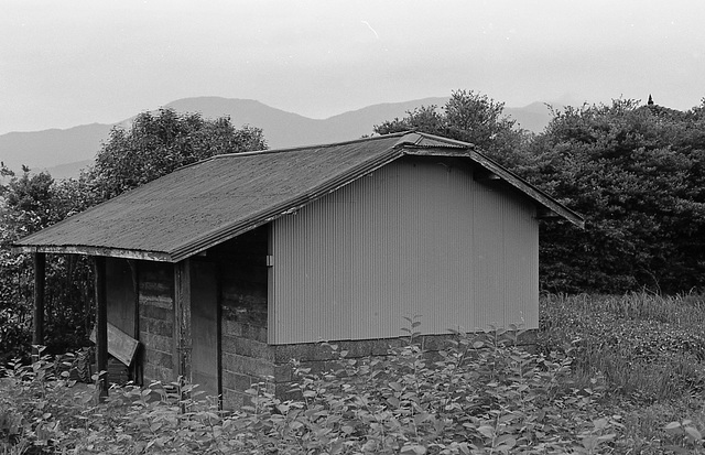 Hut in a farm