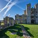 Titchfield Abbey - stars and stripes