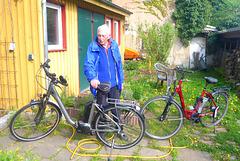 2 Elektrofahrräder von der Firma Kalkhoff