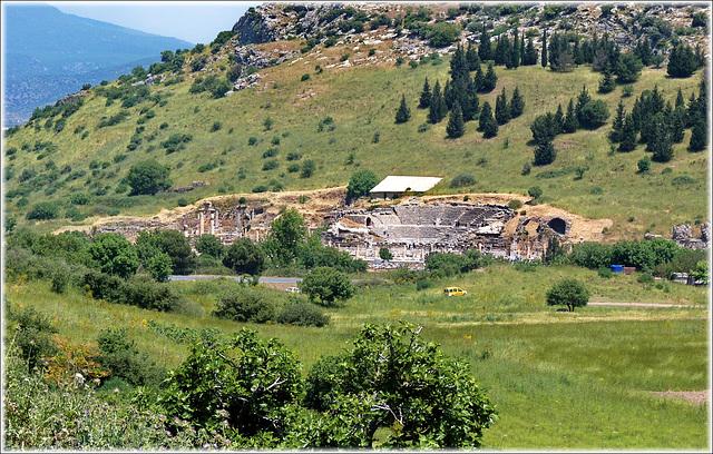 Ingresso al sito archeologico di Epheso - (463)