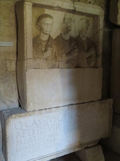 Musée archéologique de Split : CIL III, 8737.