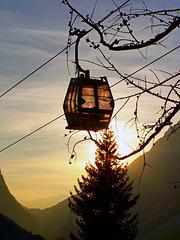 Sunset at 2000 mt. - (817)