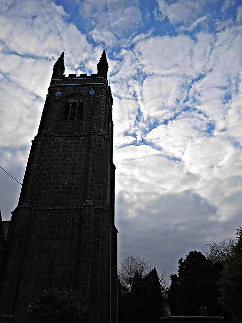 Stoke Climsland Church Tower