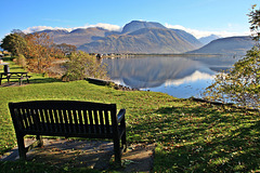 A seat for Sarah'O with a view to Ben nevis :))