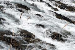 Banff, Water flowing