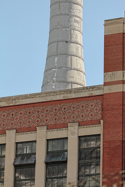 Ford power plant- brickwork and stack detail