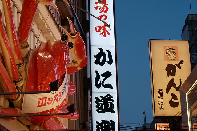 Fin de journée à Osaka (2)