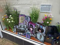 Cardzone -  35 - 37 Broad Street - Seaford - 13 4 2021 - window display left