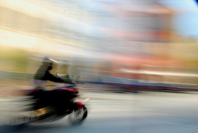 Bikers Beschleunigung