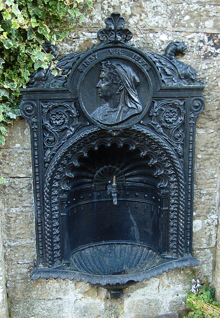 Queen Victoria Diamond Jubilee Memorial Drinking Fountain, Falstone, Northumberland