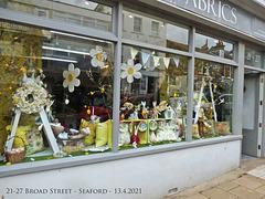 Foam & Fabrics 21-27 Broad Street - Seaford - 13 4 2021 from left