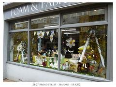 Foam & Fabrics 21-27 Broad Street - Seaford - 13 4 2021
