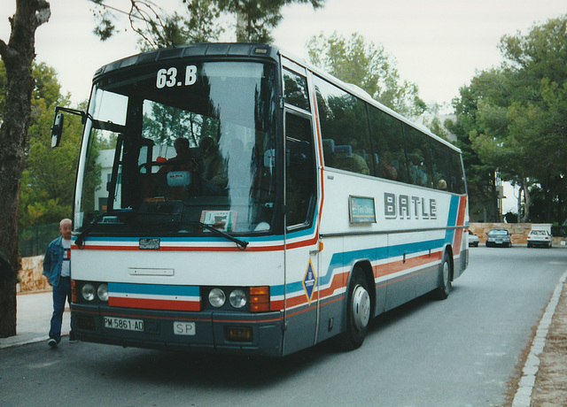 Autocares Batle 63B (PM 5861 AT) - 31 Oct 2000