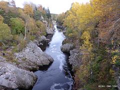 Looking downstream from Dulsie